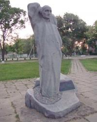 Пам'ятник Ігнацу Ліндлю - засновнику селища Сарата