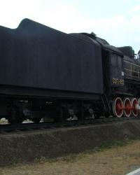 Паровоз-памятник СО-17-1613