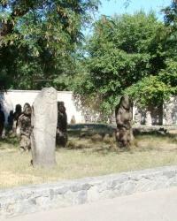 Коллекция древних каменных изваяний (г. Днипро)