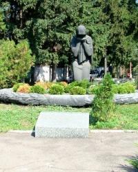 Место захоронения расстрелянных в гестапо на ул.Мостовой, 3 (г.Днепропетровск)