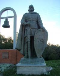 """Пам'ятний знак """"На честь першої літописної згадки України в 1187 р."""" в Переяслав-Хмельницькому"""