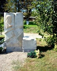Пам'ятник Юрію Горліс-Горському в с.Мельники.