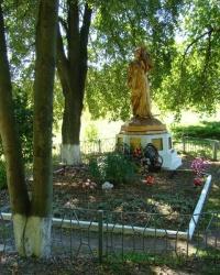 Поховання мирних жителів хутора Буда, розстріляних фашистами в 1943 р.