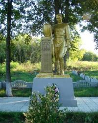 Братская могила воинов, погибших в годы Великой Отечественной войны в с.Новоселица