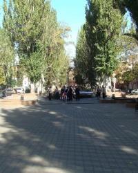 Аллея влюбленных в Днепропетровске