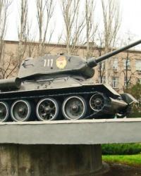 Памятник воинам-танкистам, освобождавшим город Киев