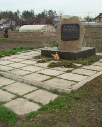 Памятный знак братьям Волошиным в пгт.Кировское
