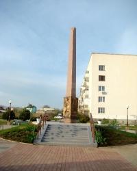 Памятник жителям поселка Заозёрное, погибшим в войнах и локальных конфликтах