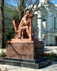 Памятник С.Э.Дувану в г.Евпатория