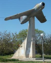 Памятник авиаторам ВВС Черноморского флота в г.Евпатория