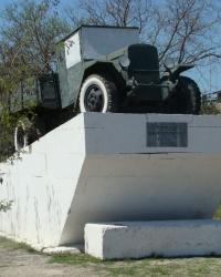 Памятник военным автомобилистам ЗИС-5  в г.Евпатория
