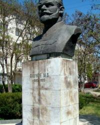 Памятник М.В.Фрунзе в г.Евпатория