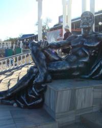 Скульптура ''Геракл и Евпатория''