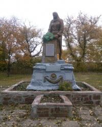 Братская могила воинов, погибших в годы ВОВ, в с.Старолозоватка