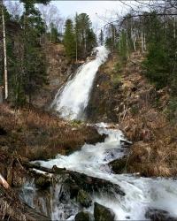 Чинжебский (Шиндинский) водопад