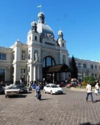 Железнодорожный вокзал в г.Львове