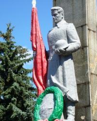 Воинский мемориал в пос.Карло-Марксово г.Енакиево