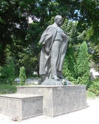 Памятник Т.Г. Шевченко в Кременце
