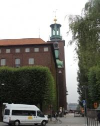 Городская Ратуша в Стокгольме (Швеция)