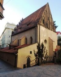 Староновая синагога в Праге (Чехия)