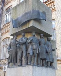 Памятник Шулявской республике в г.Киеве