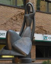 Скульптурная композиция «Возвращение Архипенко» в г.Киеве