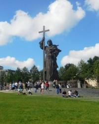 Памятник Владимиру Великому в г.Москве