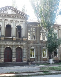 Здание четырехклассного училища в г.Бердянске