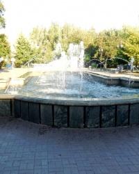 Фонтан в парке имени А.С.Пушкина в г.Бердянске
