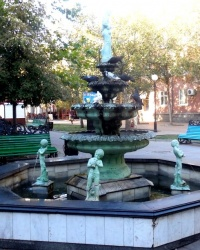 Итальянский фонтан в г.Бердянске