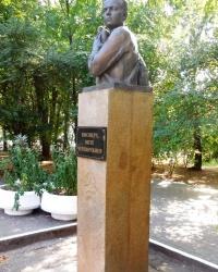 Бюст Вити Черевичкина в г.Ростове-на-Дону