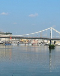 Парковый мост в г.Киеве