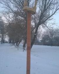 Колона заснування села в с.Абазівка