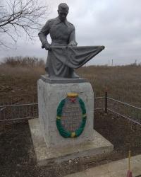 Братская могила советских воинов в с.Благодатное (Ивановский район)