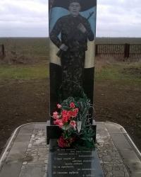 Могила В. Г. Дубинина в с.Малая Михайловка (Белорецкое)