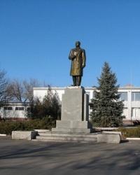 Памятник В. И. Ленину в п.г.т.Мангуш (уничтожен)