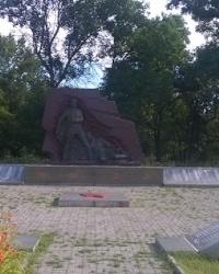 Мемориал в п.г.т.Михайловка