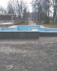 Фонтан в городском парке в г.Ахтырка