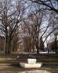 """Памятник """"Закованный Прометей и раскованный рабочий"""" в г.Ромны"""