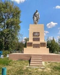 Братские могилы советских воинов на Кучугурском кладбище в п.г.т.Васильковка