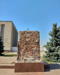 Памятник В. И. Ленину в п.г.т.Васильковка (демонтирован)
