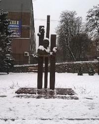 Памятник Т.Г.Шевченко в г.Вышгород
