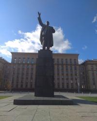 Памятник В. И. Ленину в г.Воронеж (Ленинский район)