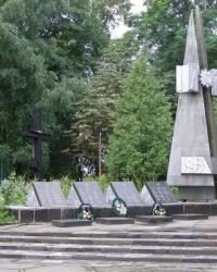 с. Анисов. Братская могила