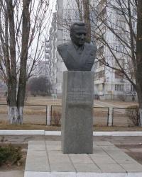 г.Черкассы. Бюст П.Ф.Батицкого