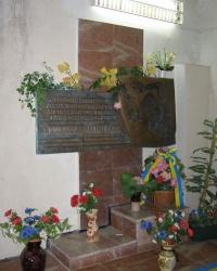 Пам'ятний знак Валерію Ходемчуку на ЧАЕС
