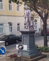 м. Пойсдорф. Пам'ятник імператору Йосипу ІІ.