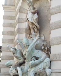м. Відень. Фонтан «Панування Австрії на морі».