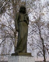 г.Чернигов. Братская могила мирных жителей на Бобровице.
