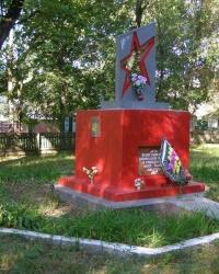 п.Радуль. Братская могила воинов, погибших при форсировании Днепра.